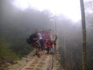 Jembatan Gantung dari Bambu