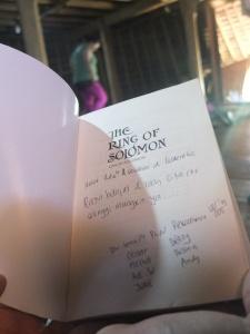 Buku yang kami sumbangkan untuk perpustakaan Wae rebo